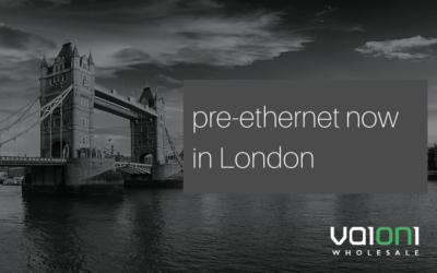 Vaioni Launches London Pre-Ethernet