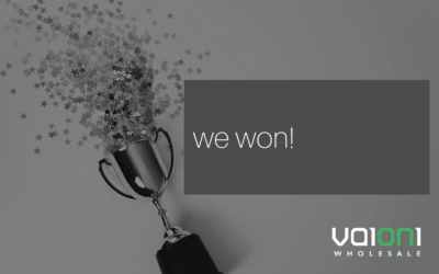 Vaioni Wholesale wins Channel Supplier Connectivity 2019 Award
